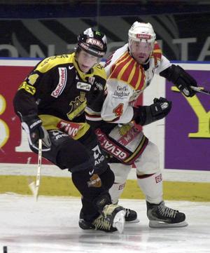 Pär Djoos i en match mot AIK 2001.