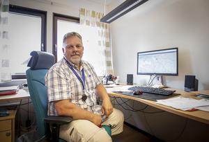 Fotograf: Olov-Anders Sikku. Göran Bengtsson är teknisk chef på Bräcke kommun.