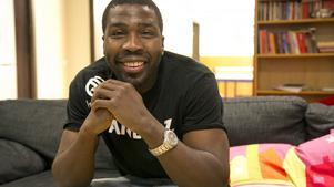 Daniel Nzinga är samordnare på Villan som arrangerar Backlurafestivalen.