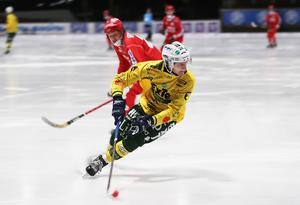 Artem Varlamov visade stundtals hög klass på Ljusdals mittfält.