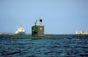 HMS Neptun.Foto: Försvarsmakten