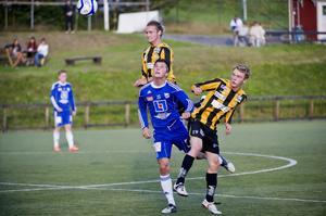 Friska Viljors Joakim Jönsson var bäst på plan när FV hemmaslog Kramfors med 5–2. Foto: LEIF WIKBERG/ARKIV