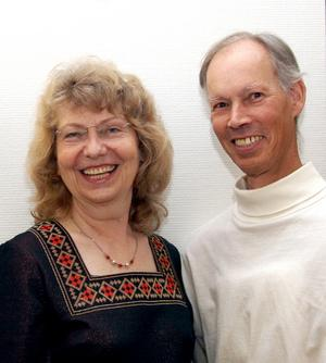 Duo Franzén spelar tillsammans i Hedemora kyrka på lördags kväll klockan 18.00.