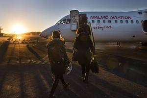 Redan från början av oktober kan du flyga direkt från Frösön till Berlin med Malmö Aviation.
