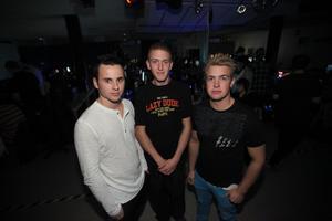 Mattias Gas Wikström, Markus Andersson och Anton Andersson är några av de ungdomar som arbetat med att genomföra lanet i Gnarp.