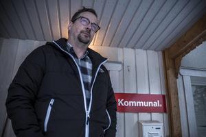 Rikard Mattsson, facklig företrädare för kommunal i Härjedalen.