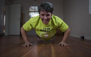 Monica Blomkvist har startat träningsgrupper i Dala-Floda. Foto: annika björndotter