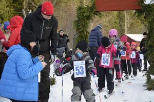 Barnens Vasalopp var den andra skidtävlingen som Agnes Grönqvist, 3 år, deltog i.