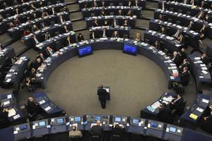 Europaparlamentet i Strasbourg. Fotograf: Christian Lutz/ap Photo