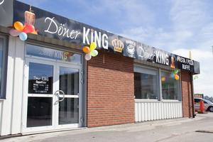 Restaurangen Döner King öppnade nyligen på Bäckby.