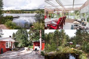 På Övertänger 574 utanför Enviken ligger en liten stuga med egen brygga vid sjön Balungen som är till salu för 800 000 kronor.