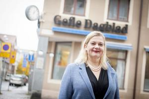 Anna Gullberg, chefredaktör Gefle Dagblad
