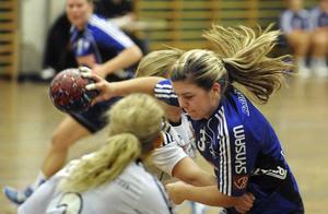 Lina Hillgren och Arbrå kämpade väl – men missade för många lägen.