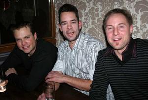 Tabazco. Stefan, Anders och Hasse