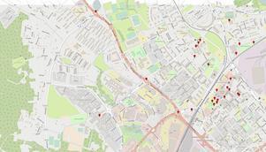 Här finns den offentliga konsten i Borlänge. På dt.se/ledare finns interaktiva kartor där du kan läsa om varje konstverk.