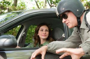 När Larry Crowne (Tom Hanks) blir förälskad i sin retoriklärare, spelad av Julia Roberts.