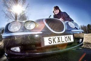 Som ung tändes Angeli Löfqvist Snells intresse för Jaguar av förlagan Mk II. 99:an har drag av den gamla klassikern.