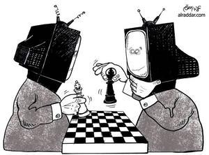 Medierna spelar schack med allmänhetens åsikter.