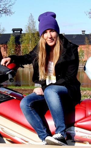 Isabel Matsson, ordförande i föreningen ESF Wakeboard.