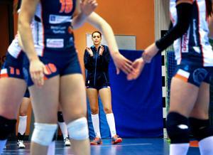 Leah Best i Lindesberg Volley.