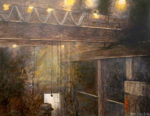 Ur målerisviten Das Stahlwerk av Peter Endahl.