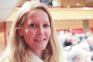 Susanné Wallner (M), regionråd och förste vice ordförande i regionala utvecklingsnämnden.