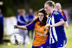Åsa Magnusson gjorde två mål och passade till de två andra då Bollnäs besegrade Trönö med 4–1.