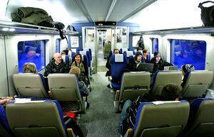 Med dubbelspår mellan Stockholm och Sundsvall kan restiderna förkortas rejält.
