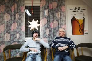 David Sandell och Jan-Erik Dahlbäck sitter med i styrelsen för Spelberoendes riksförbunds lokalförening i Borlänge.