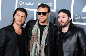 Swedish House Mafia fick gå tomhämta från amerikanska Grammygalan härförleden, men kan vinna fem priser på den svenska motsvarigheten.
