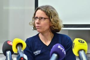 Karin Torneklint, förbundskapten för friidrottslandslaget.