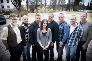 Erland Hedin, Pär Eriksson, Pär Eklund, Conny Bengtsson, Linda Eriksson, Jan-Erik Hansson, Hans Lindberg och Anders Schön, tänker göra Nytorp till ett av Norrlands ledande utbildningscenter.