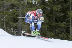 Viktor  Andersson, Vemdalen, vinnare när SM avgjordes i Lofsdalen under lördagen.