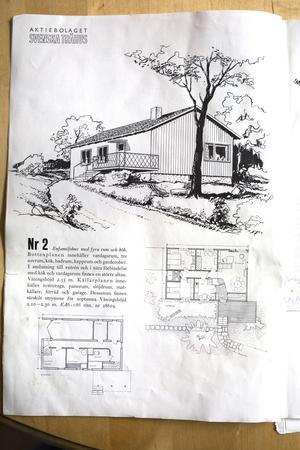 En villa nummer 2 i katalogen från Svenska Trähus