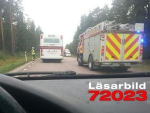 Olyckan inträffade vid Fu utanför Mora.