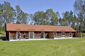 Radhus i Rönneshytta. Såhär ser de nya radhusen i Rönneshytta ut, som är förebild till de tänkta husen i Laxå.