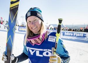 Sandra Näslund fick en tredjeplats tilldelad till sig i Feldberg på lördagen.