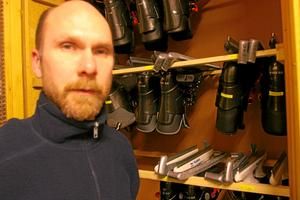 Roger Andersson, tränare och ledare i IFK Salas skridskosektion. Foto: Niclas Bergwall