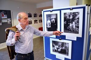 Rolf Jansson har tidigare gjort en utställning av Sophie Jansons bilder som visats i kommunhuset.
