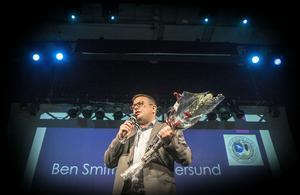 Engelsmannen Bens Smith utsågs till årets ledare.