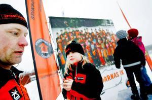 """""""207 barn har varit med här i dag"""", säger tävlingsledaren Anders Dahlgren som anordnat tävlingarna för första gången."""