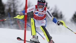 Frida Hansdotter slutade på femte plats i Santa Caterina.