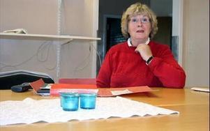 Lisbeth Lagerberg har tillsammans med Ingemar Eriksson hållit i förstudien och ansökt om bidrag till museet.FOTO:LEIF OLSSON