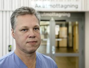 Per Bergman, enhetschef på akutmottagningen.