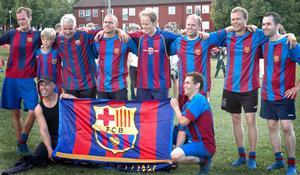 FC Barcelona tog hem segern med 2-0 mot AIK. Foto:Karin Grahn Wetter