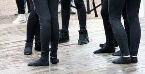 Dansarna i Step by step blev blöta om fötterna.