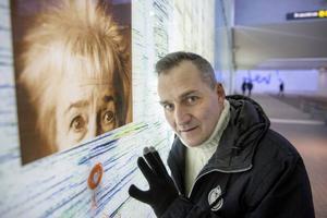 Umeåborna hungrar efter kultur, enligt Fredrik Lindegren, konstnärlig ledare för kulturhuvudstadsåret och Umeås kulturchef. I den nya järnvägstunneln finns konstnärlig utsmyckning tillägnad Sara Lidman. Där ryms också hennes formulering