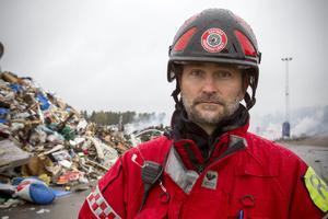 Robert Strid är räddningschef på Gästrike Räddningstjänst. (Arkivbild)