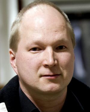 Mattias Kauppinen från Pålsboda hoppas hitta ett jobb som svetsare.