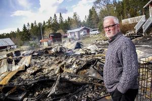 Hans-Erik Englundh vill bygga upp en ny sjöbod.